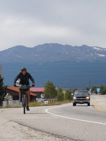 How Joe Grant Biked to and Climbed Colorado's 14ers