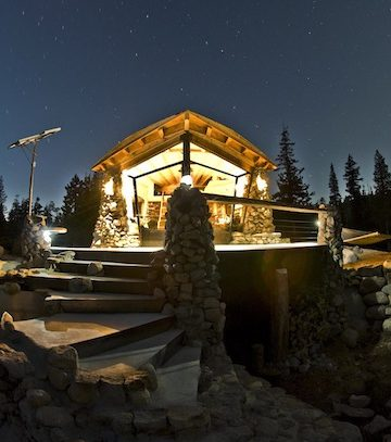 The Incredible Tiny Cottage of Snowboarder Mike Basich