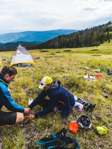 Big Agnes employees spent their summer on the CDT