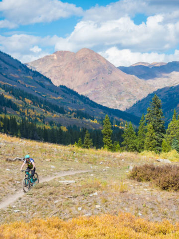 Crested Butte Woman Sets a New Mountain Biking Record