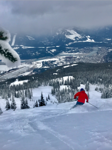 My Inaugural Trip To Part of The Powder Highway