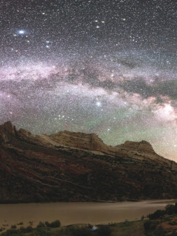 See: Dinosaur National Monument's Night Sky