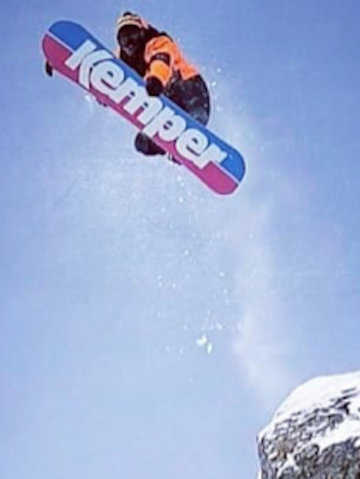 Kemper Snowboards returns retro and bright