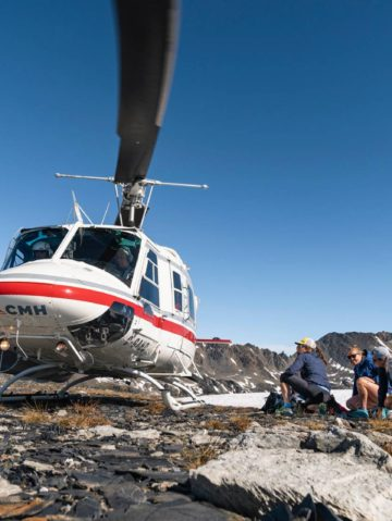 Heli-Mountain Running Launches in North America