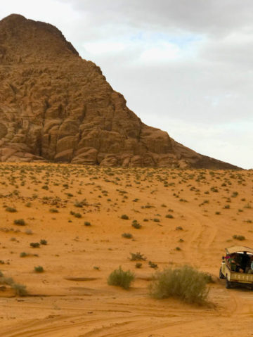 Dreaming Of Hiking in Wadi Rum