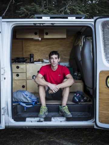 Alex Honnold's Van Life Essentials